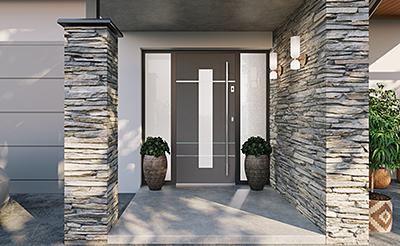 Aalborg bejárati ajtó
