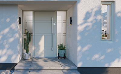 Assen bejárati ajtó